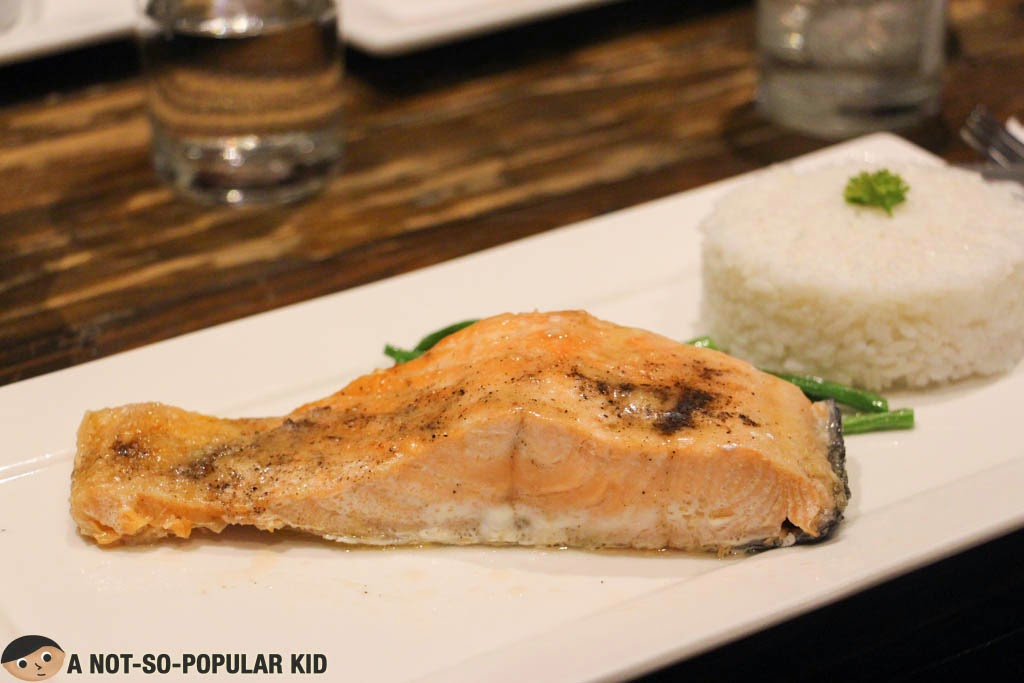 SALT' Steakhouse's Baked Salmon