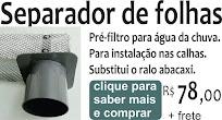 PRÉ-FILTRO SEPARADOR DE FOLHAS