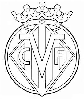 Im  Genes Del Escudo Del Villarreal Para Colorear