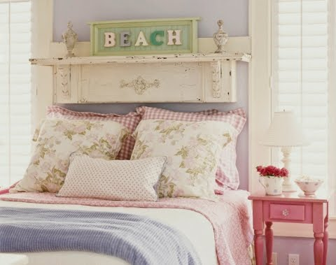summer cottage bedroom