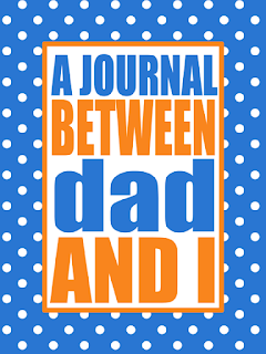 Parent/Child Communication Journal | Free printable journal covers in several colors for mom or dad.