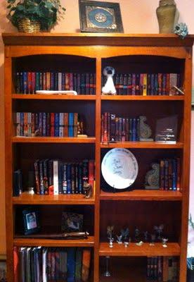 Donna Grant bookshelf
