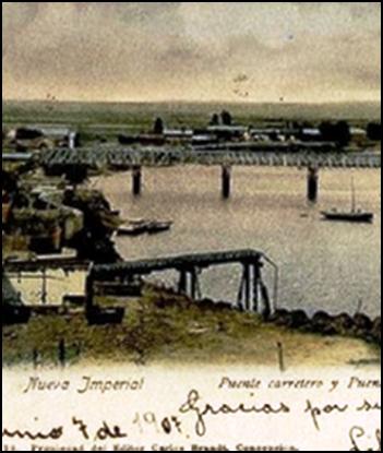 LA TRAGEDIA FERROVIARIA DE CHOLCHOL, 5 agosto 1902