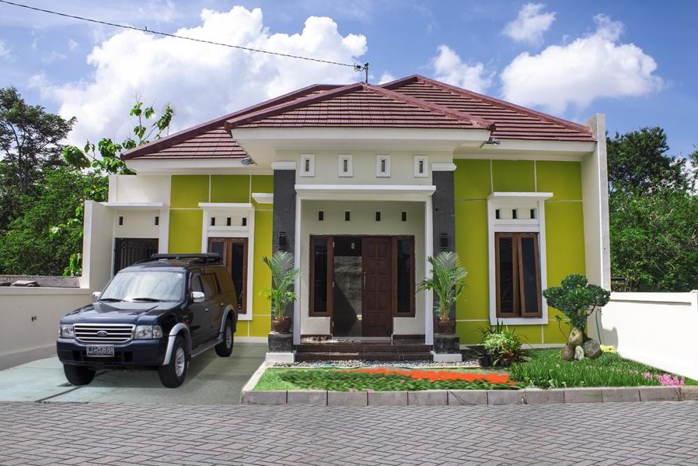 inspirasi dekor rumah 10 gambar desain rumah mewah 1 lantai
