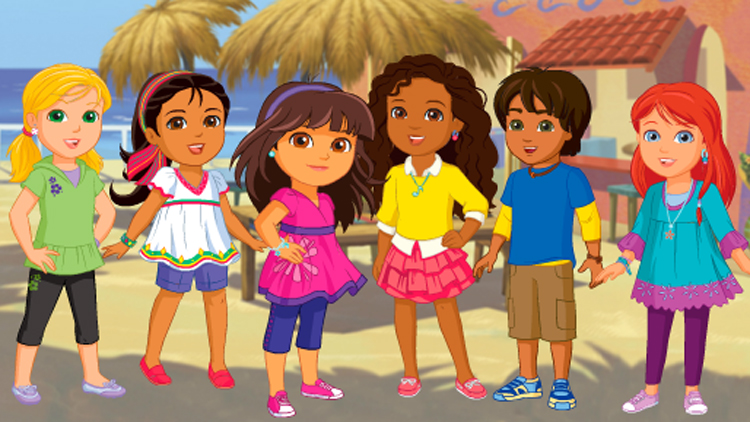 dora and friends into the city dvd