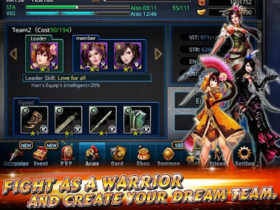 Destiny War V1.0.1 MOD APK Unlimited Mana