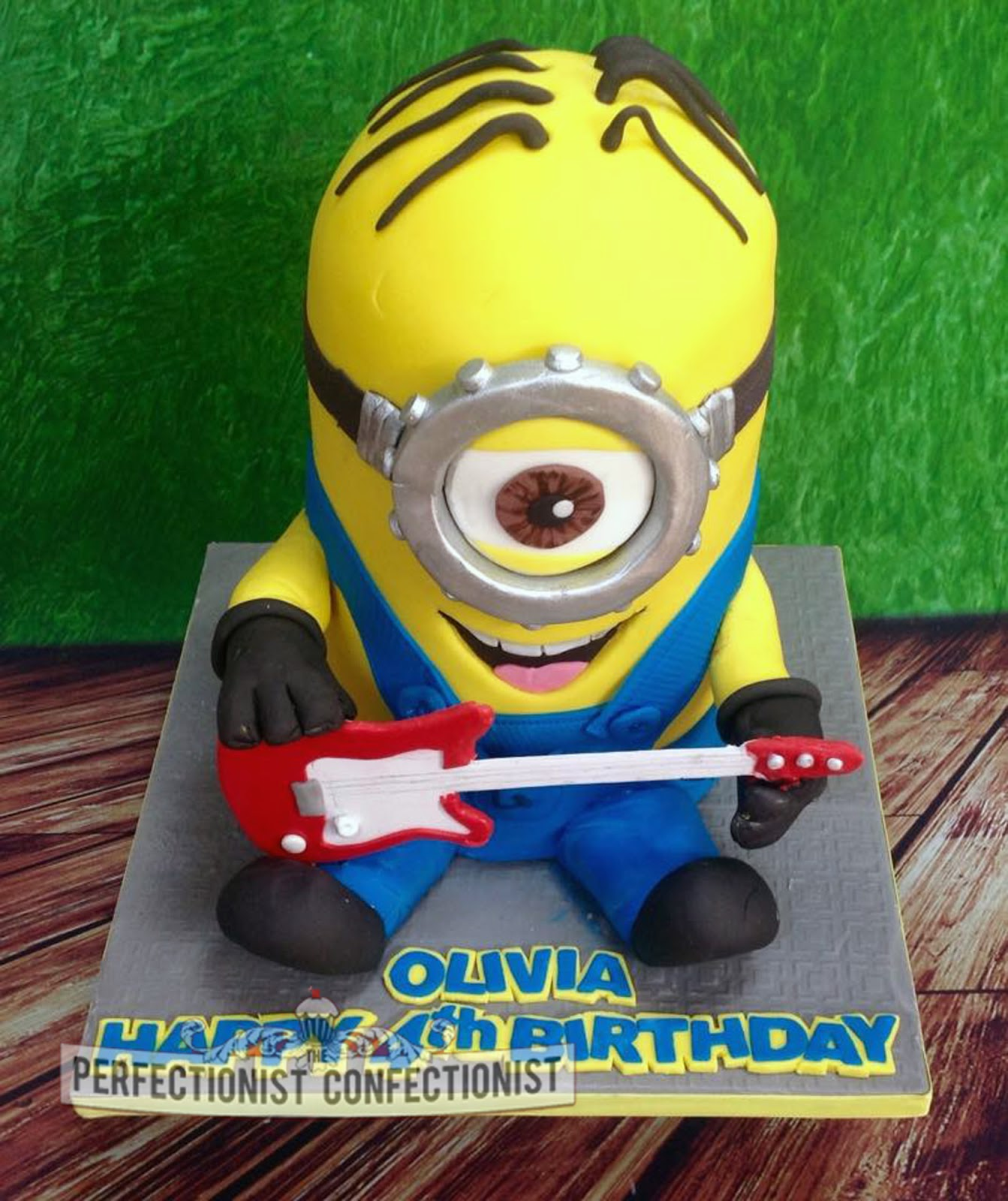 The Perfectionist Confectionist Oliva Stuart Rock and Roll Minion