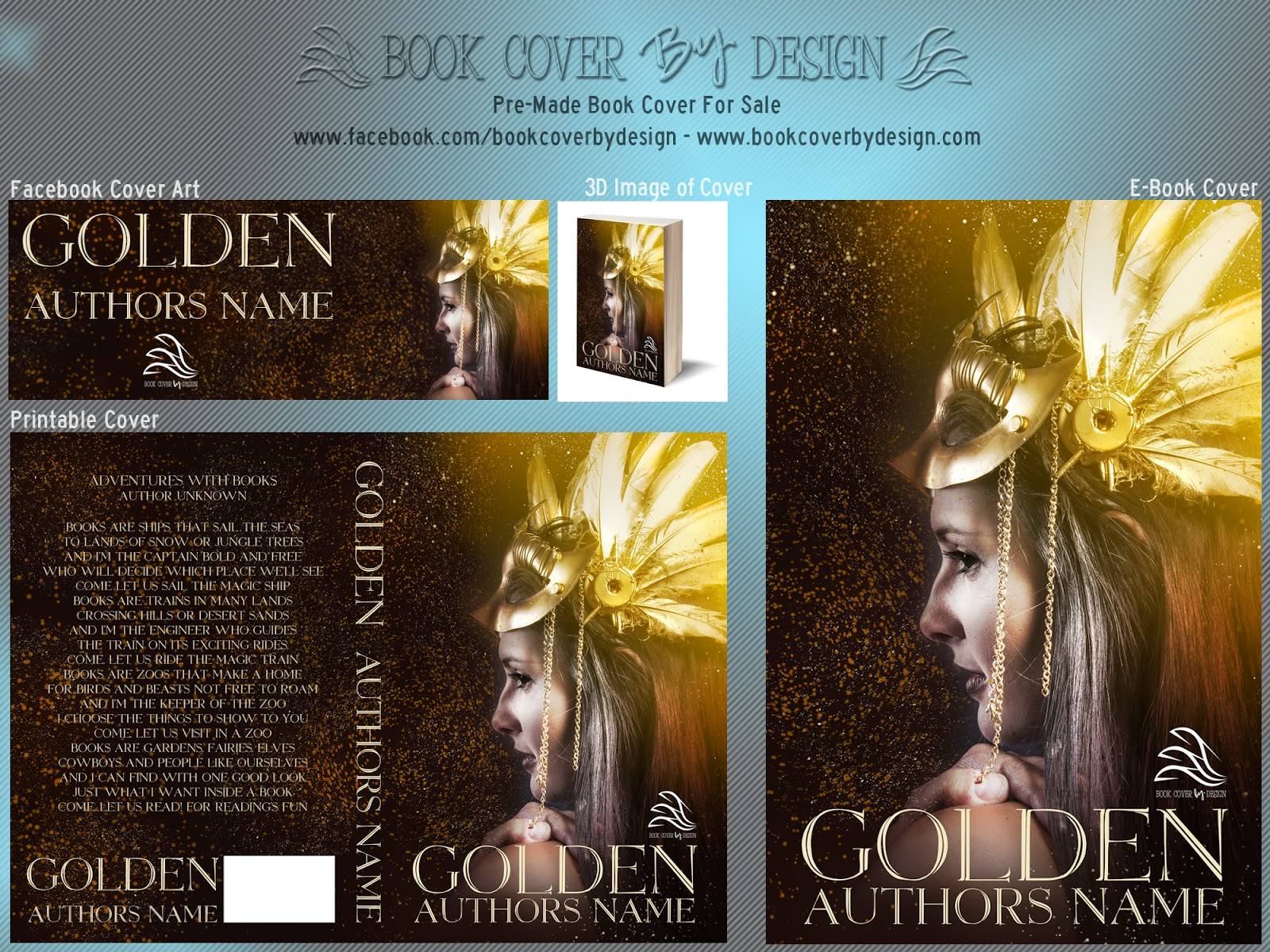 Book Cover Forros For Sale ~ Book cover by design pre made covers for sale