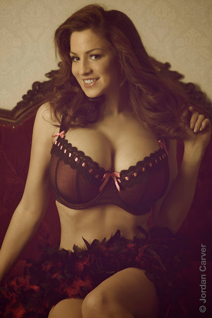 Super Model Jordan Carver in Beautiful Vintage Photography