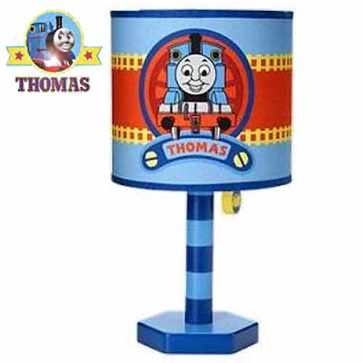 Delightful Thomas the Train Lamp boys bedroom furniture night light decoration fixture for tables