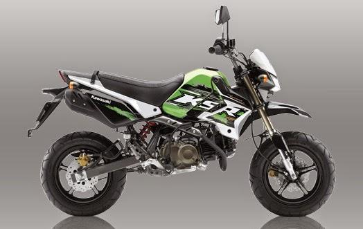New Kawasaki KSR Pro