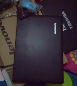 Laptop baru untuk ngeblog