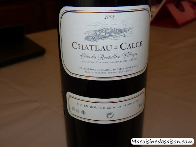 Boeuf bourguignon au vin de Calce