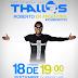 Thalles Roberto en gira por Argentina