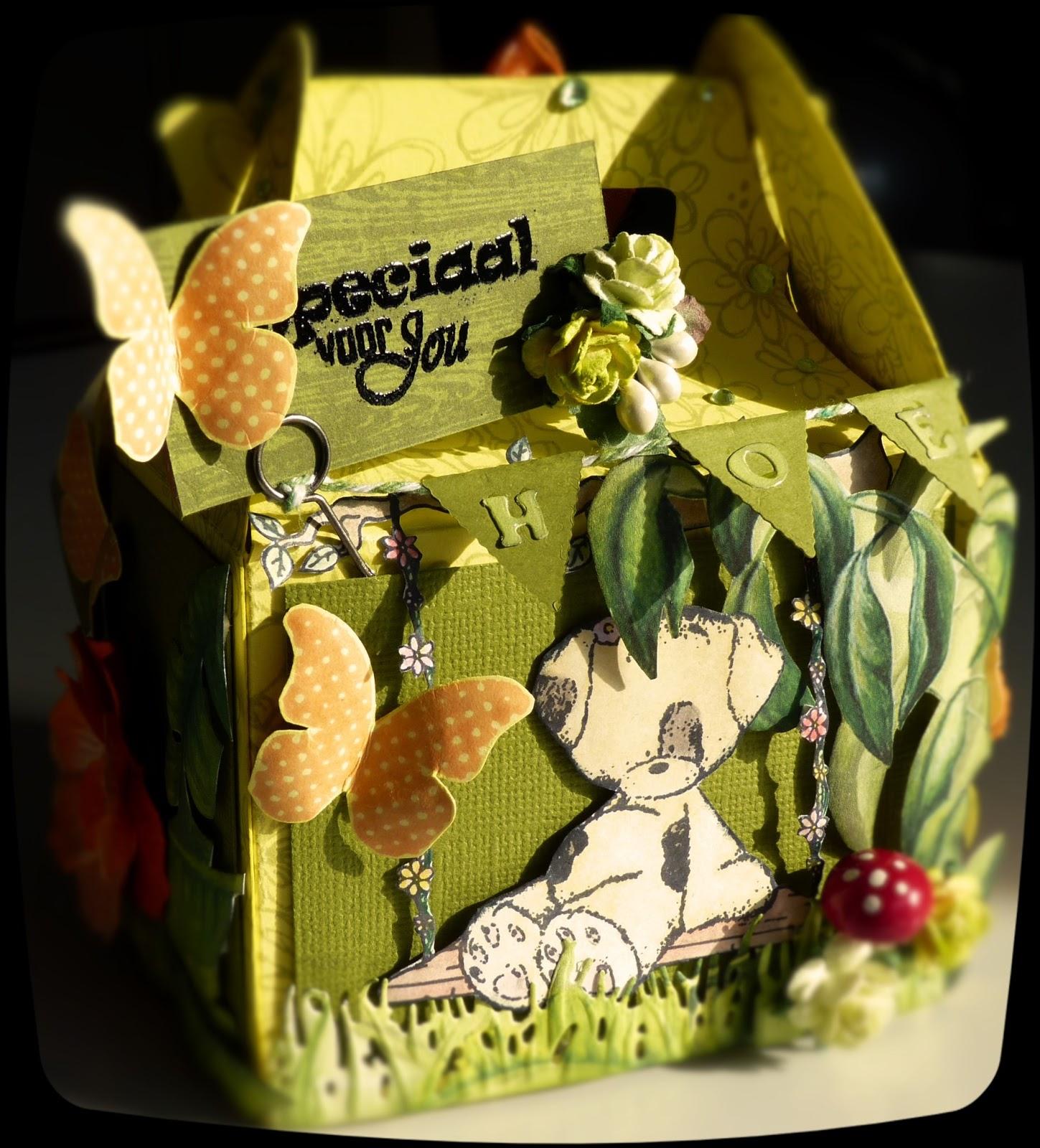 Spring & Garden Gable Box