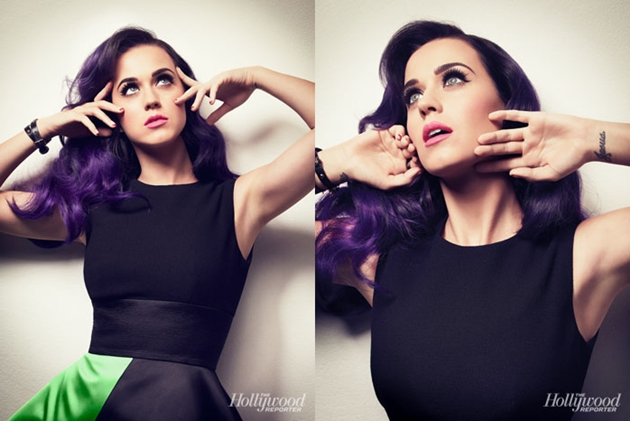 Katy Perry pattern cover of Hollywood Reporter See photos photo 1