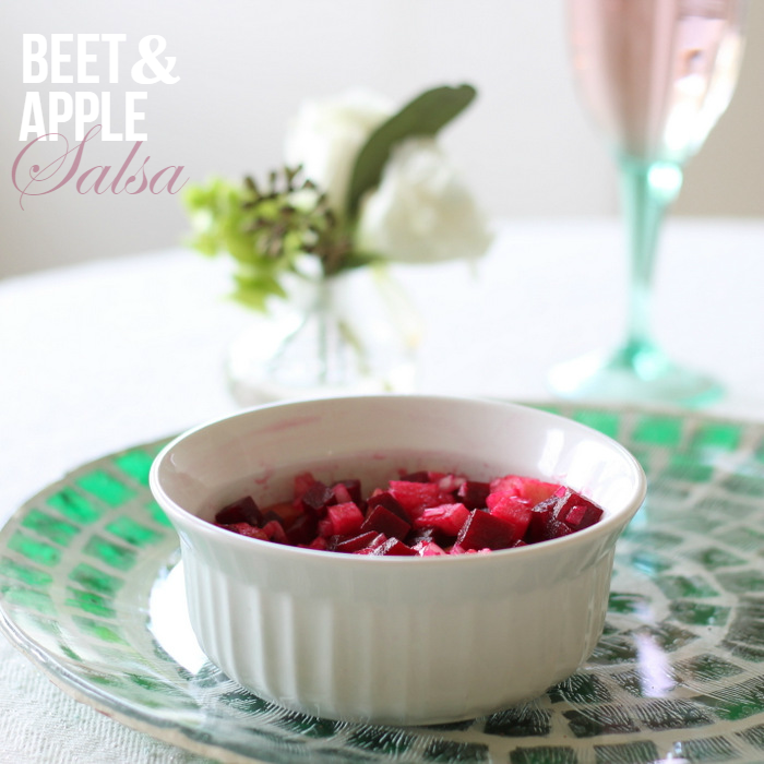 Beet & Apple Salsa Recipe via homework