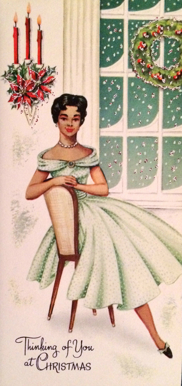 These festive african american christmas greeting cards from the via buzzfeed kristyandbryce Image collections