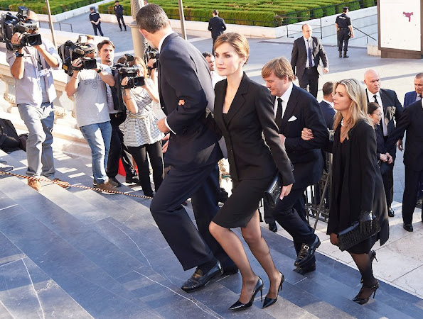Queen Letizia of Spain, King Willem-Alexander and Queen Maxima,