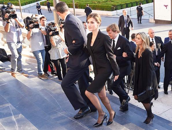 Queen Letizia of Spain, King Willem-Alexander and Queen Maxima,
