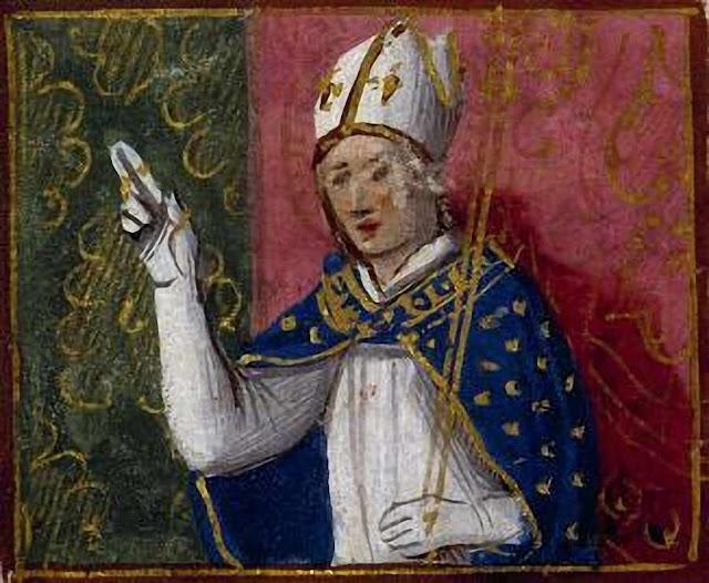 São Guilherme, bispo de Bourges, convertia os hereges mais duros