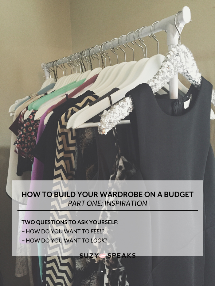 build wardrobe on a budget