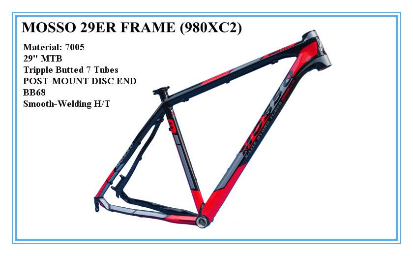 MOSSO 29ER FRAME 980XC2