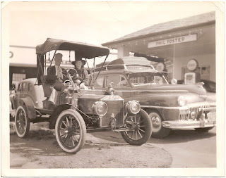 Esso gas station 1930s car 1920s car