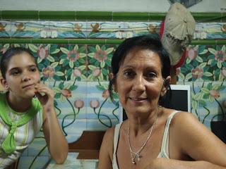 Santiago de Cuba interior Adriana and Marta