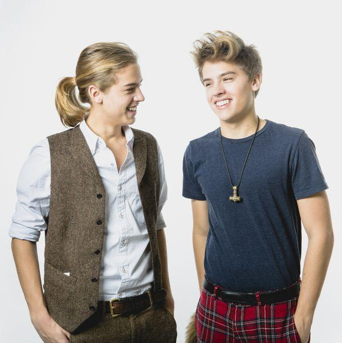 okaeee byeee     Dylan And Cole Sprouse Then And Now 2014