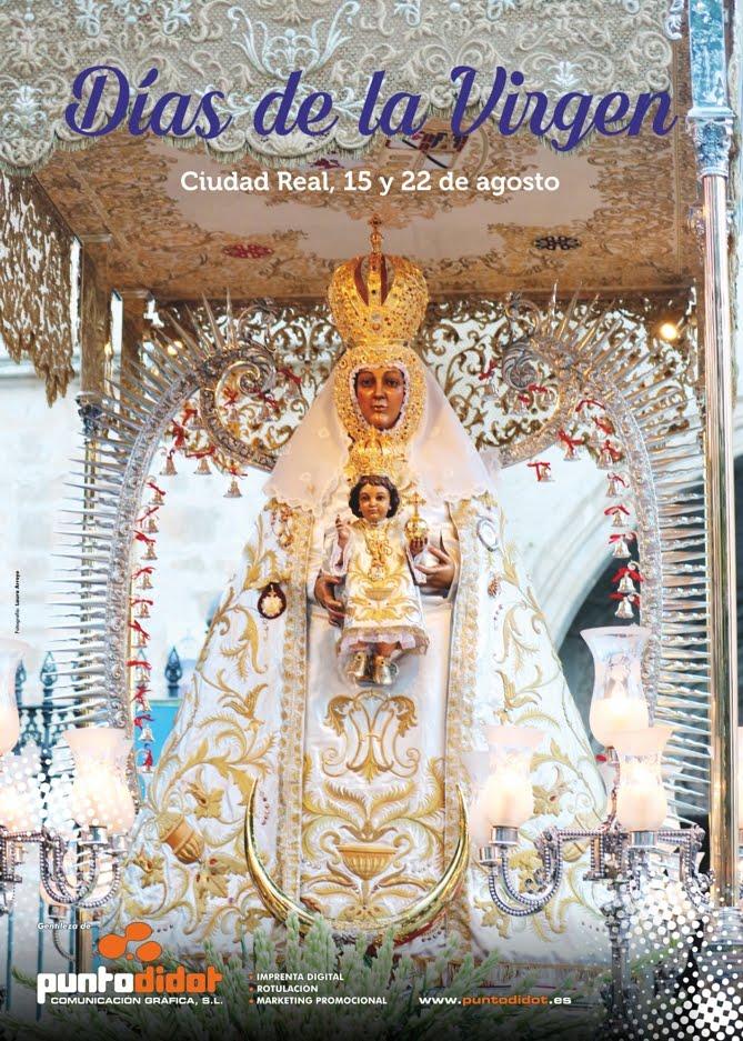 Cartel de la Virgen del Prado 2018