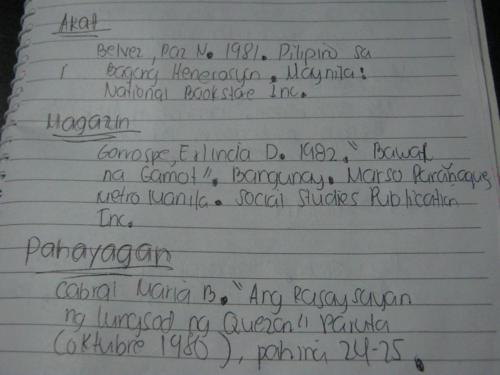 paggawa ng konklusyon sa term paper Guide sa paggawa ng thesis:d halimbawa ng isang pamanahong papel o term paper na may halimbawa ng isang pamanahong papel o term paper na may pamagat na.