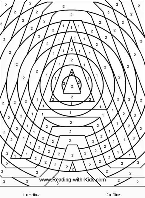 Coloriage Magique Math Cp - coloriage magique maths CE1 BLOG GS CP CE1 CE2 de