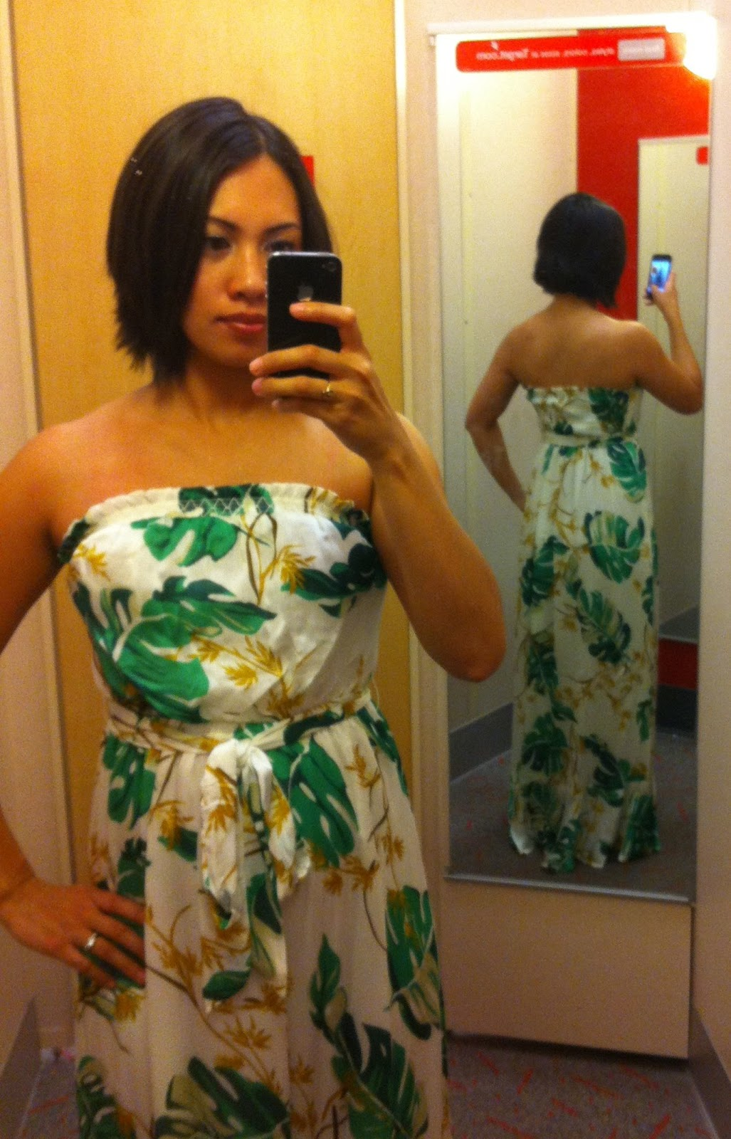 Item: Strapless Maxi Dress by The Webster for Target