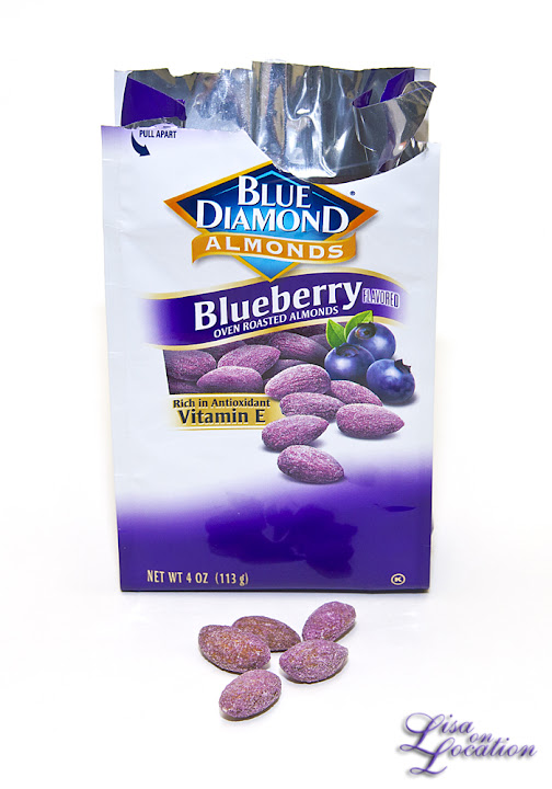 Blueberry flavored almonds. Lisa On Location photography. 365 photo project. New Braunfels, San Antonio, San Marcos, Austin