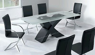 Modern Dining Room furniture, Black