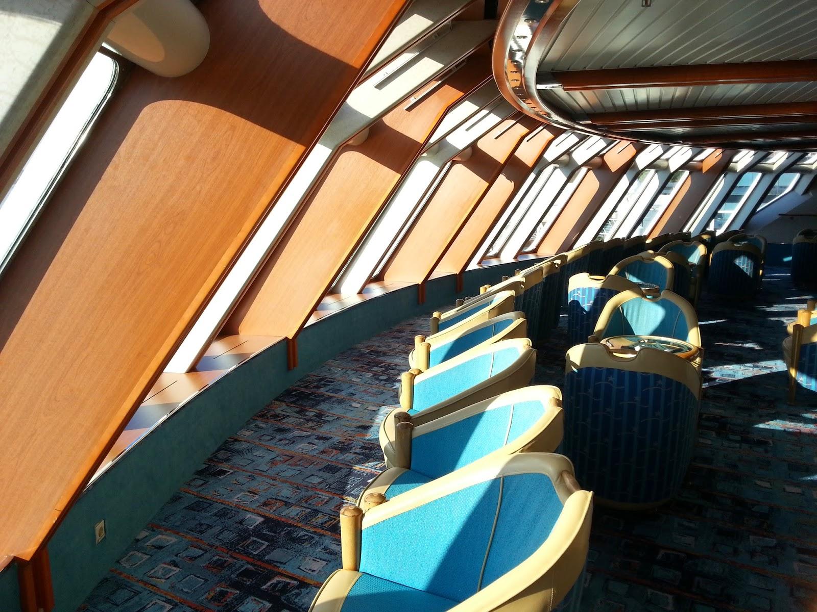 Hurtigruten MS Nordlys - Orion Panorama Lounge