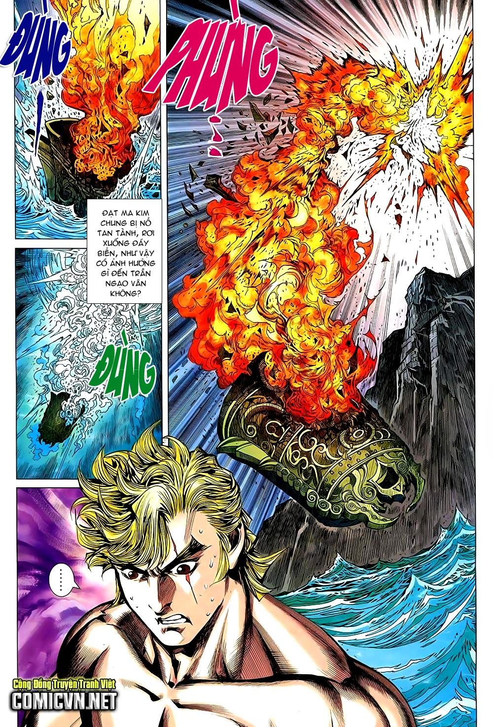 Thạch Hắc Long Truyện Chap 90 - Trang 9