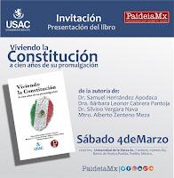 """PRESENTACIÓN DEL LIBRO """"VIVIENDO LA CONSTITUCIÓN"""""""
