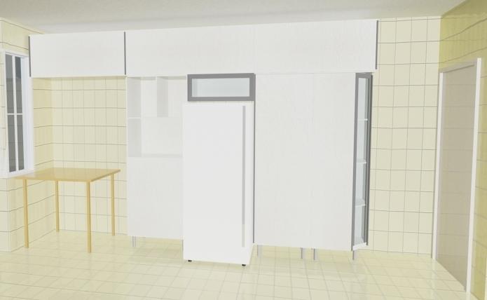 decoracao de interiores universidade:HANAÍ GOMES – ARQUITETURA: Desing – Maquete Eletrônica: Cozinha