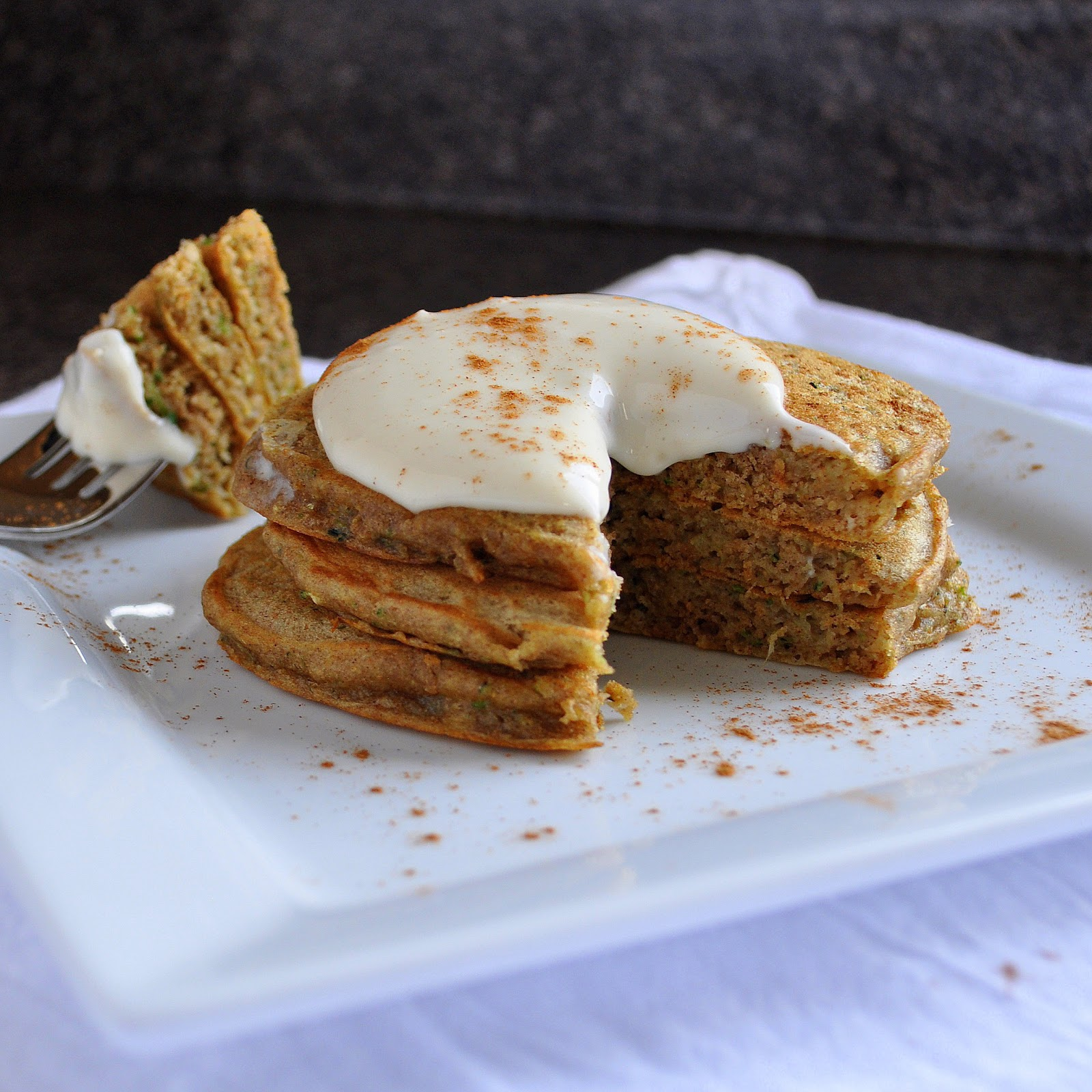 BREANNA'S RECIPE BOX: Zucchini Bread Pancakes