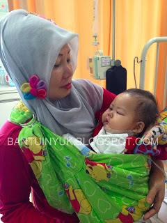 bayi yang menderita leukimia