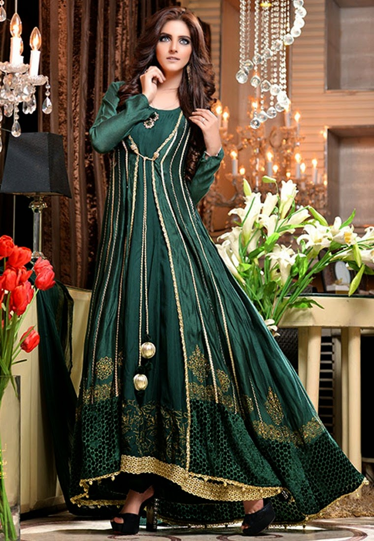 stylish fancy dress design ideas in 2015 by famous pakistani dress designers - Dress Design Ideas