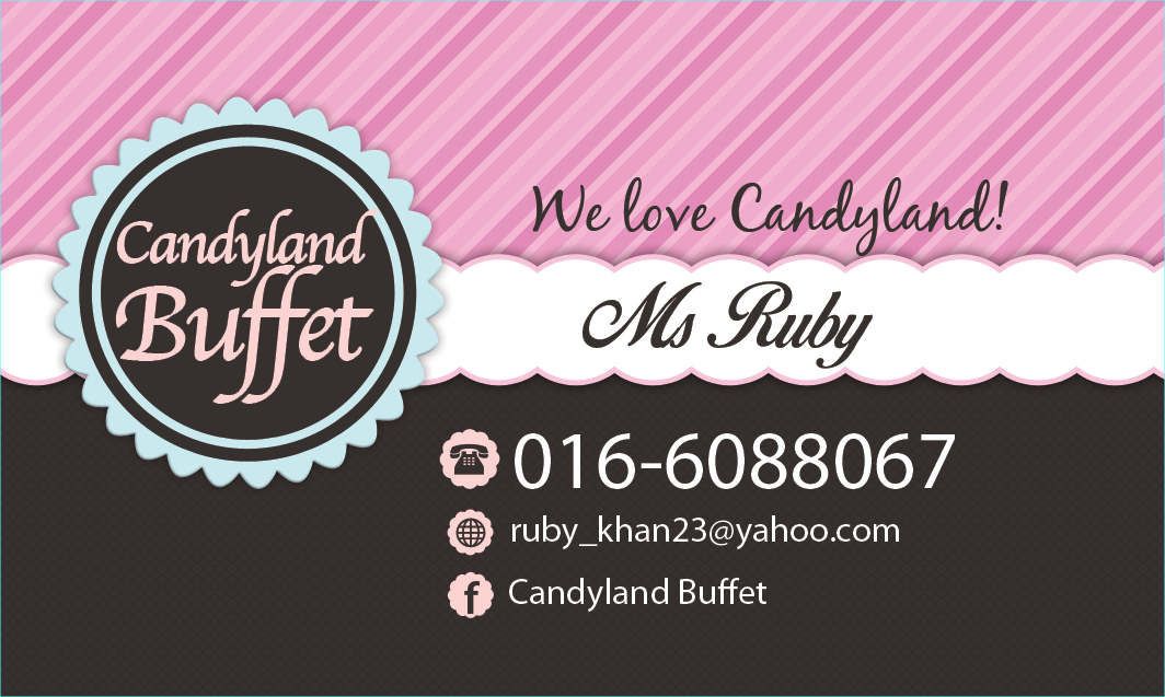 Hi Im Ruby The CandyLand doing my little business of Candy Buffet ...