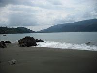 A secluded beach outside Bahía Solano