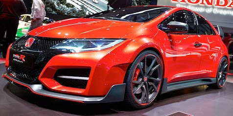 2015 Honda Civic Type R Appear In Mysterious like the devil!