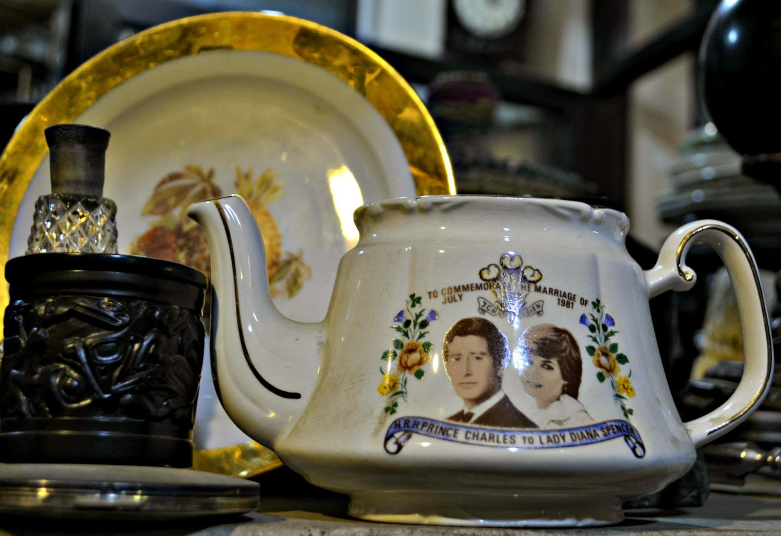 royal wedding teapot