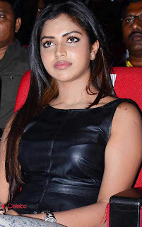 Amala Paul Pictures in Leather Top at Iddarammayilatho Audio Launch  0001