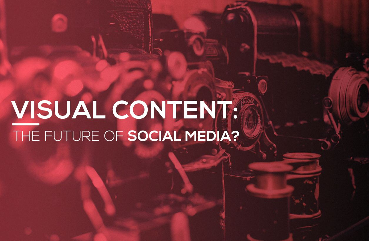 Why Visual Content is The Future Of Social Media Marketing? - #infographic