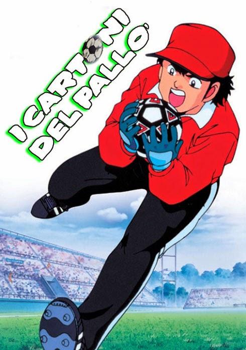 Tutti i cartoni animati giapponesi e non sul calcio l